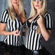 Fußballtrainerin Duo Stripshow
