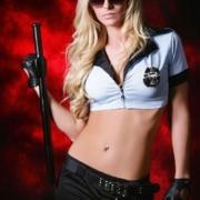 Polizistin Stripshow